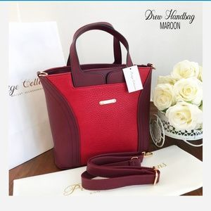 Handbag with detachable sling